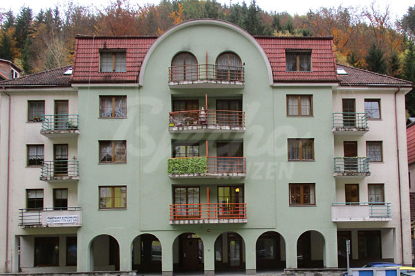 6 Pers. Appartement Bart, Westbohmen, Jachymov