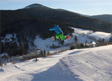Snowboarpark in Harrachov